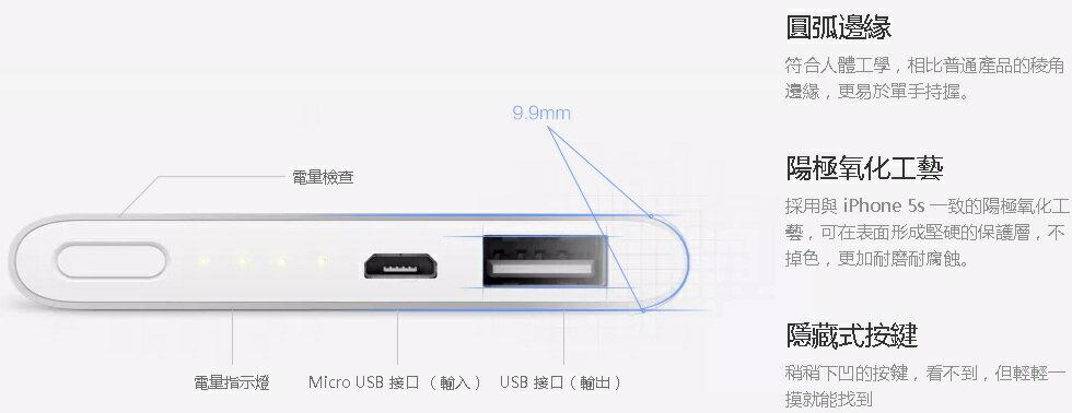 限量-官方代購 小米行動電源5000版本 小米 行動電源 充電器 USB 5