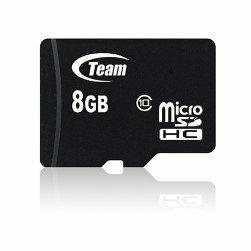 *╯新風尚潮流╭* TEAM十銓 8G 8GB Micro SDHC C10 TUSDH8GCL1003