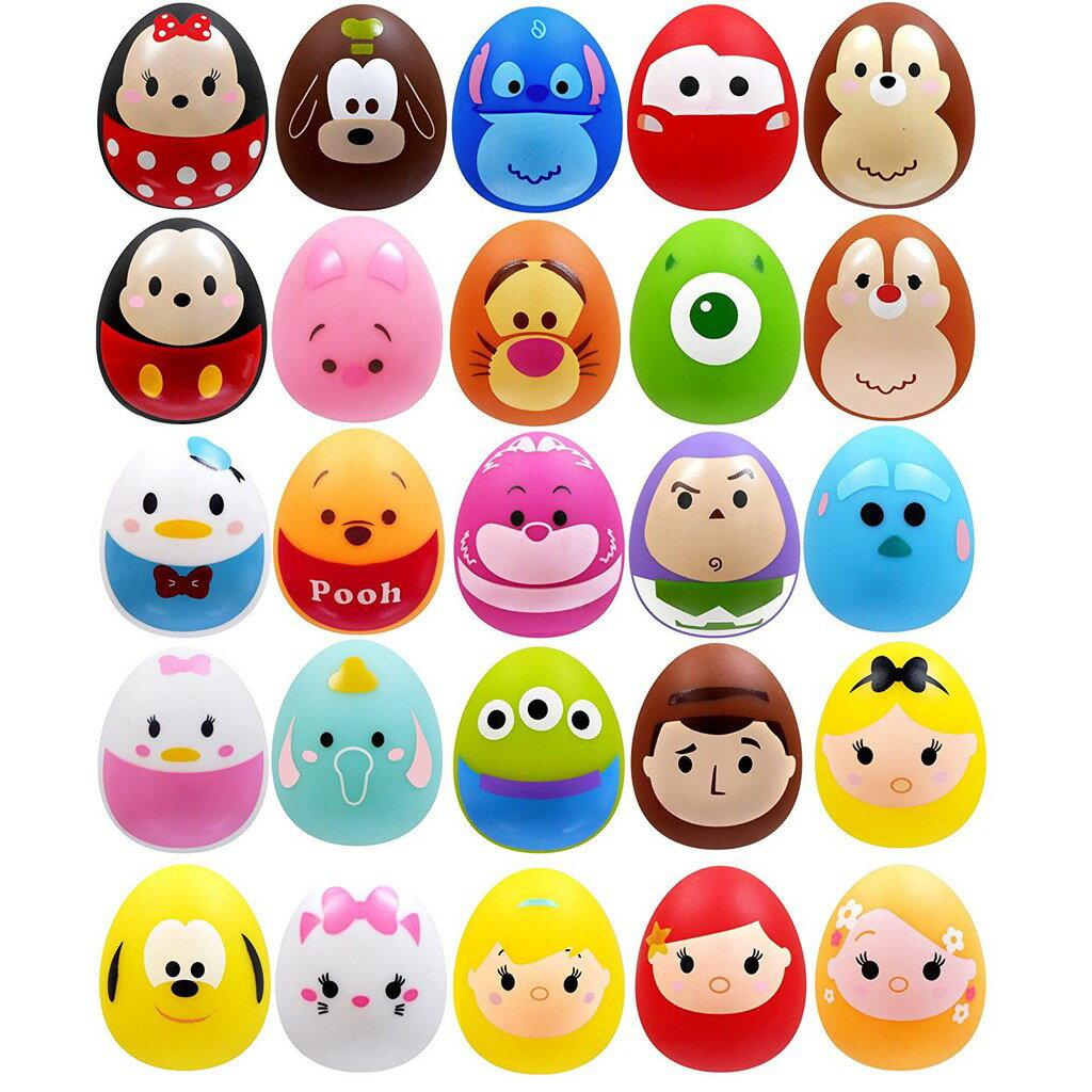 【預購】日本進口景品 50個/1個18.2元  - 迪士尼 TsumTsum 4cm 雞蛋形狀 - 隨機混合【星野日本玩具】