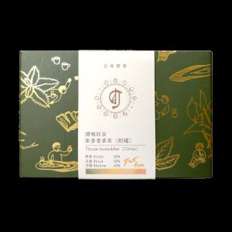 【日常野草】柑橘青草茶包 5入 - 茶包 青草茶 養生茶包 冷泡茶包 天然青草
