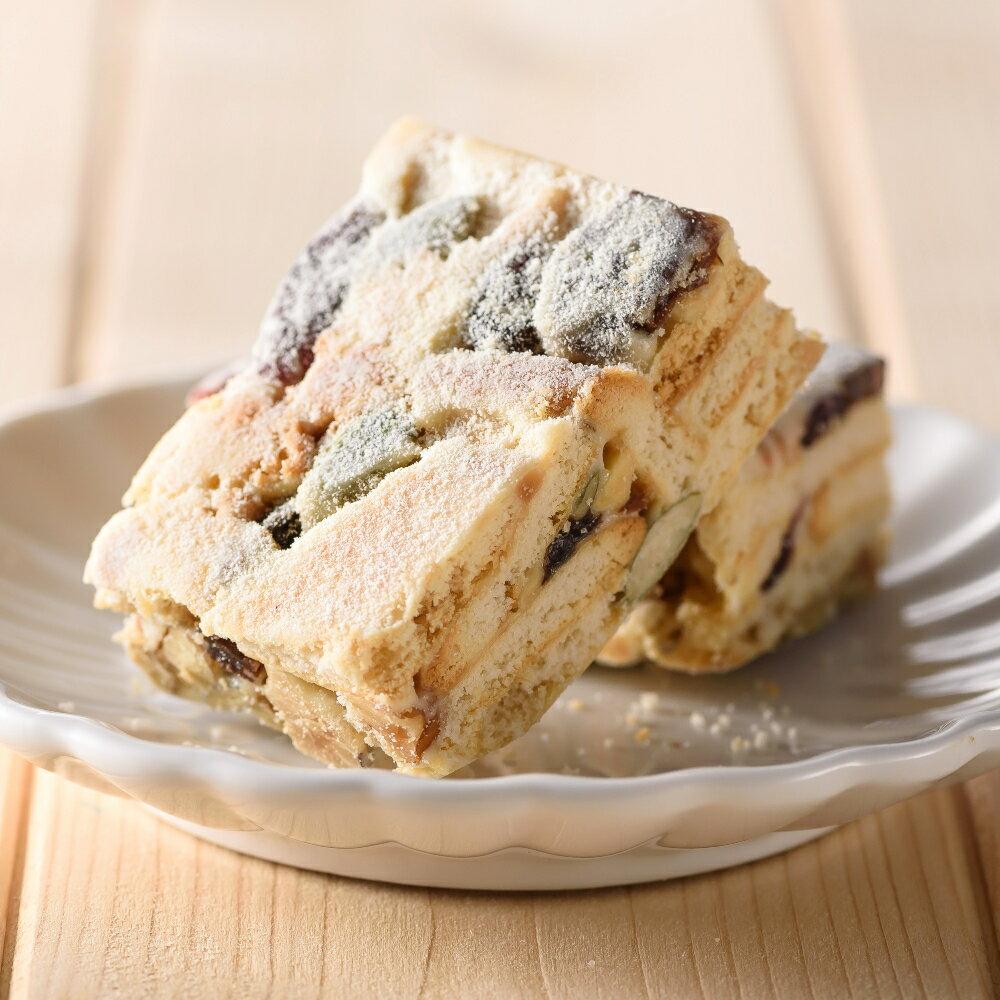 堅果雪花酥餅  12入/盒  雪Q餅 下午茶 點心 茶點 零嘴
