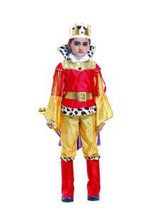 X射線 精緻禮品:X射線【W370029】豪華國王裝,化妝舞會角色扮演魔女魔術表演萬聖節聖誕節兒童變裝cosplay