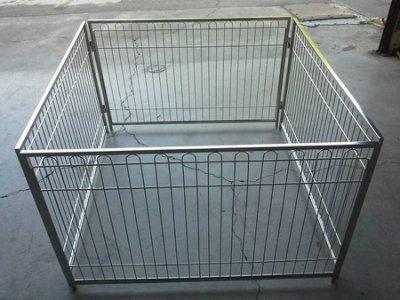 3*2尺 白鐵線不銹鋼圍片白鐵圍欄 方管 可活動組合保證全新