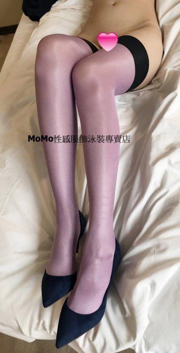 ~ ~ 實拍 ~ ~ 性感情趣包芯絲油亮撞色拼接長筒絲襪大腿襪 多色 J7236