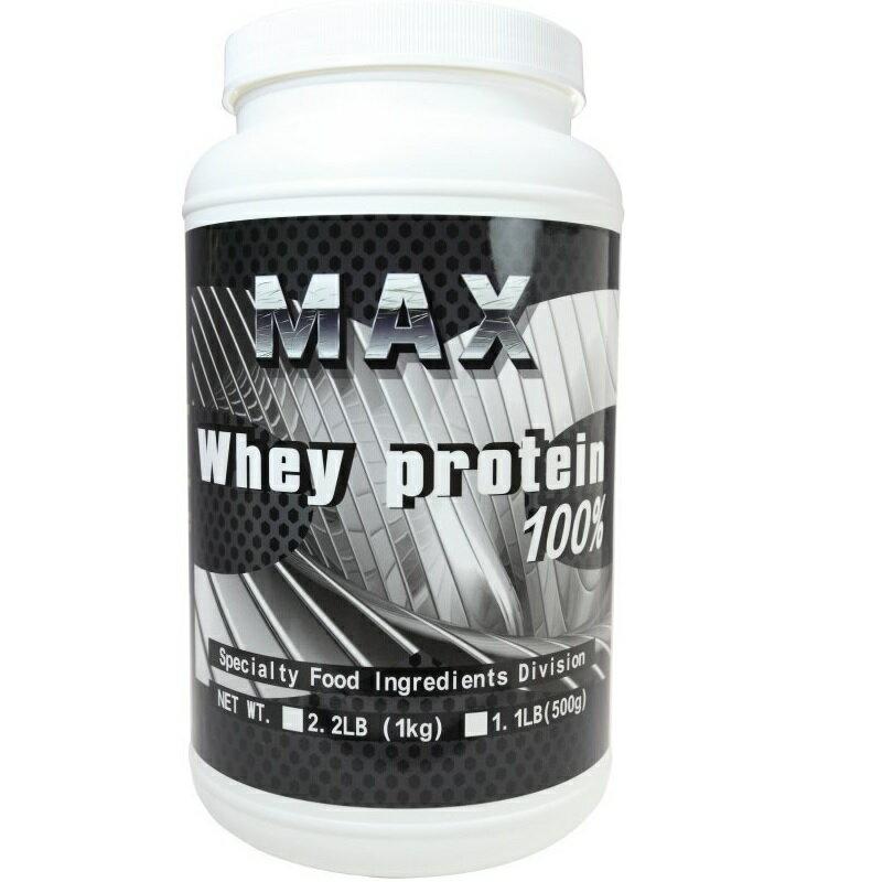 雙11整點特賣 2019 / 11 / 6 13:00準時開賣 MAX 麥斯 分離乳清蛋白 使用美國Hilmar 1000g 原味無添加 0