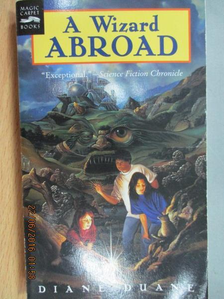 【書寶二手書T8/原文小說_MEH】A Wizard abroad_Diane duane
