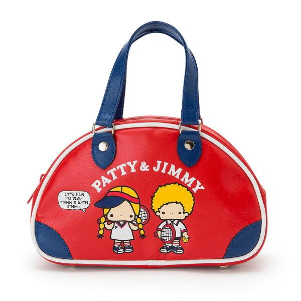 【真愛日本】4901610382875迷你復古手提包-PJ網球ACQ帕蒂吉米三麗鷗零錢包化妝包收納包