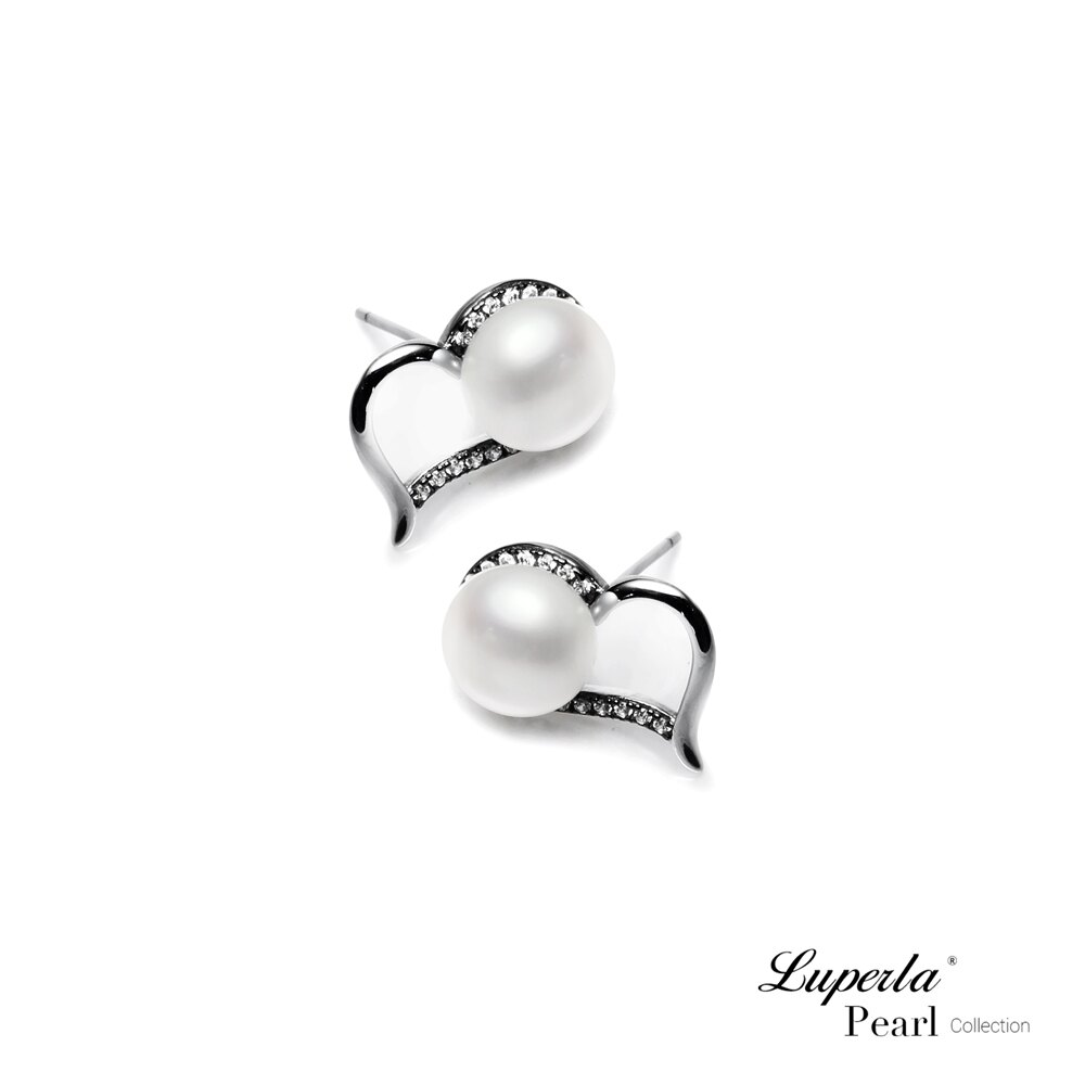 大東山珠寶 唯愛珍心 925純銀珍珠耳環 純白色 0