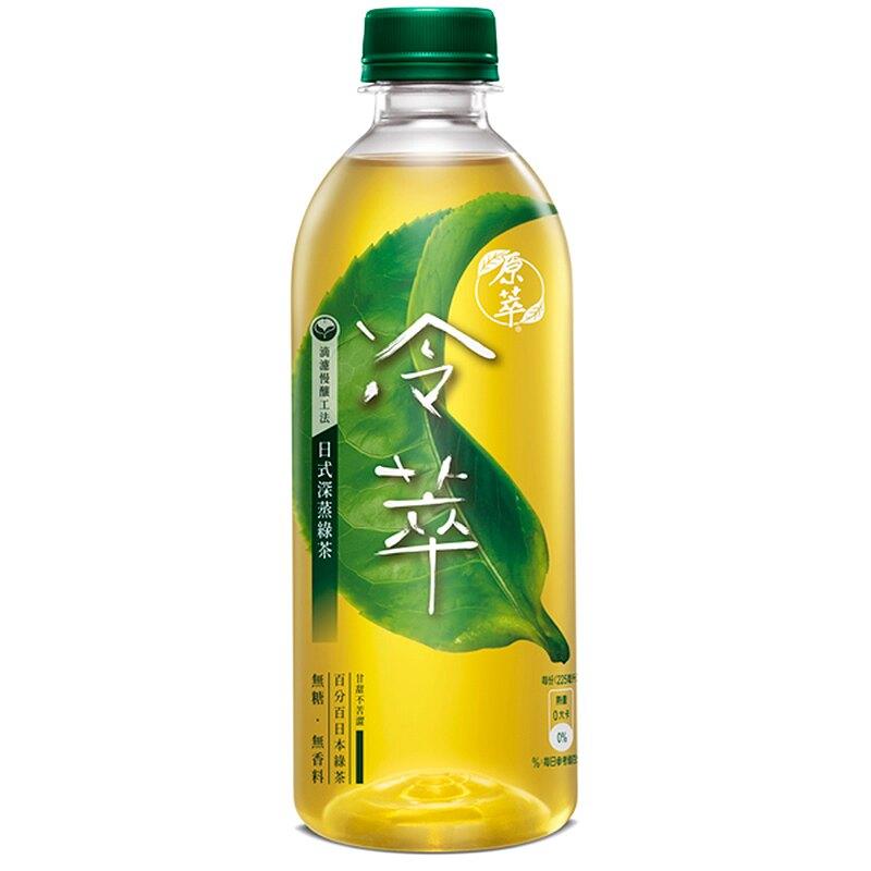 原萃冷萃日式深蒸綠茶450ml【康鄰超市】