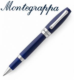 義大利Montegrappa萬特佳財富系列-鋼珠筆(海洋藍-銀夾)ISFORRPD支
