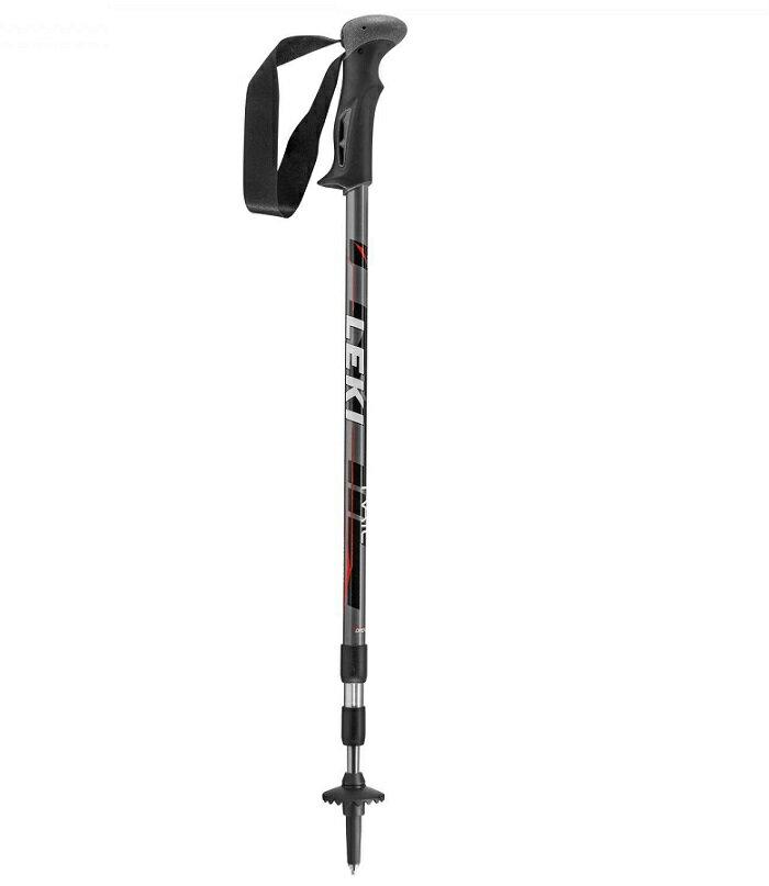 【露營趣】中和 德國 LEKI 6322021 鋁合金登山杖 鎢鋼杖尖 橡膠握把