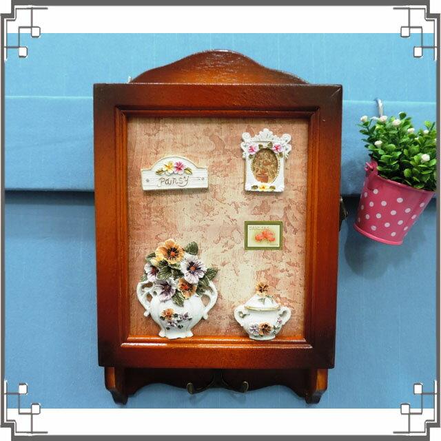 木製田園KEY BOX《WK2-2》鄉村鑰匙盒 木製鑰匙盒 壁櫃 收納櫃 壁飾◤彩虹森林◥