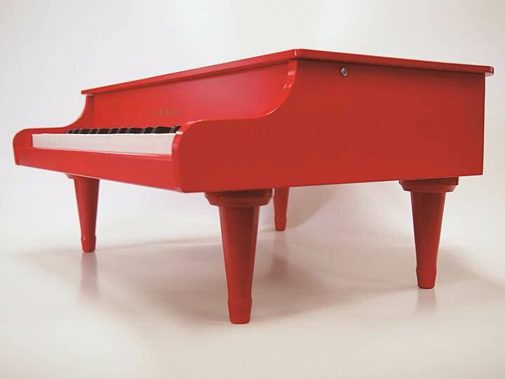 Kawai【日本代購】河合 迷你鋼琴 日本製1163-紅色