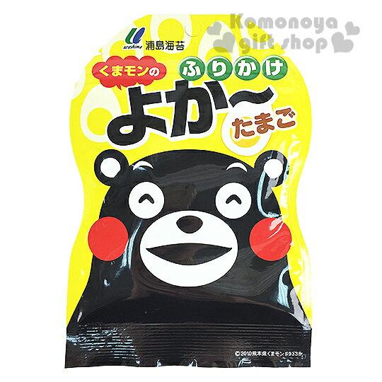 〔小禮堂〕日本原產 浦島 熊本熊 飯友《25g.袋裝》雞蛋風味