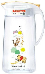 X射線【C800238】小熊維尼WinniethePooh塑膠冷水壺1.6L,水瓶水壺水罐玻璃冷水瓶