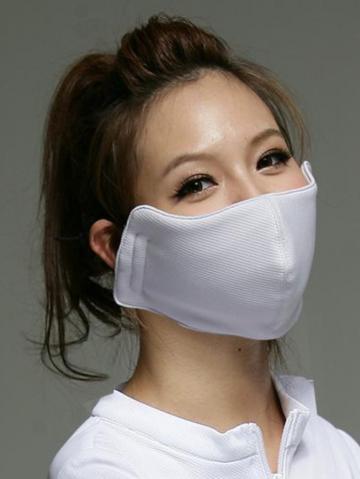 時尚功能抗UV口罩(藕色、粉色、深藍)【幸福台灣 一年保固期 全館免運費】