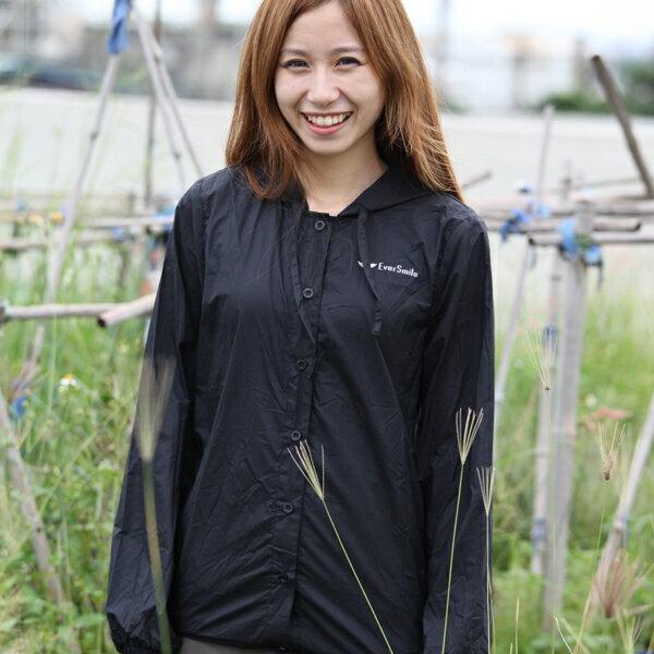 女款15丹超輕薄連帽外套(黃色、黑色)【幸福台灣 一年保固期 全館免運費】