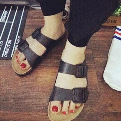 涼鞋 歐美流行經典時尚軟木風涼鞋(35~40)【S914】☆雙兒網☆ 1