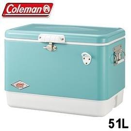 [ Coleman ] 51L經典鋼甲冰箱 美國藍 / 公司貨 CM-03739