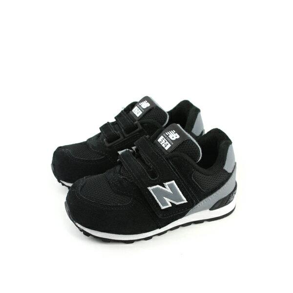 New Balance 574系列 復古鞋 黑色 小童 no195