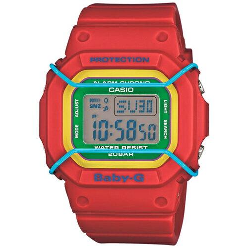 CASIO BABY-G BGD-501-4B多色數位流行腕錶/44.7*40mm