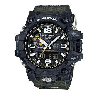 CASIO G-SHOCK GWG-1000-1A3陸海空防泥概念電波腕錶/56.1mm