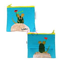 荷蘭繪本作家 LEO LIONNI 隨身面紙套 收納包 Frederick 田鼠阿佛 ☆艾莉莎ELS☆