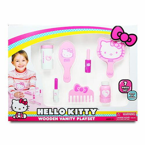 Hello Kitty 木製裝扮組(扮家家酒)→FB姚小鳳