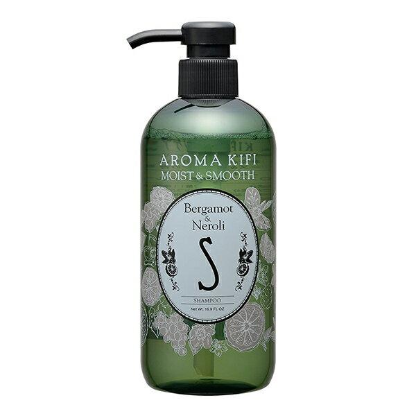 《日本製》AROMA KIFI 植粹滑順洗髮精-橙花香 500ml【無矽靈】