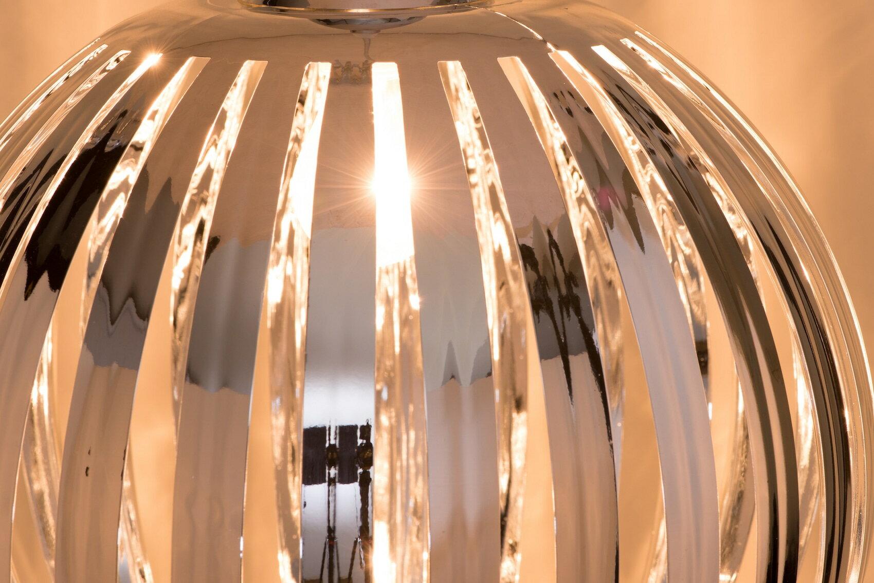 鍍鉻條圓形吊燈-BNL00054 3