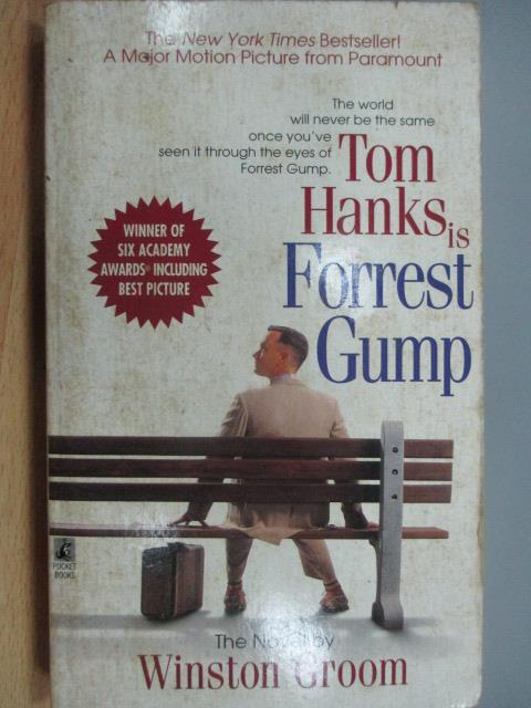 【書寶二手書T1/原文小說_MAX】Tom Hanks is Forrest Gump