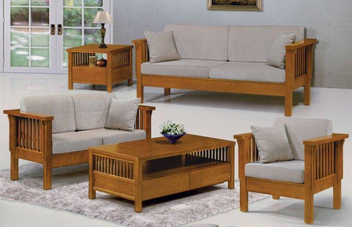 【尚品家具】 JF-169-1 魯娜柚木組椅-單人座