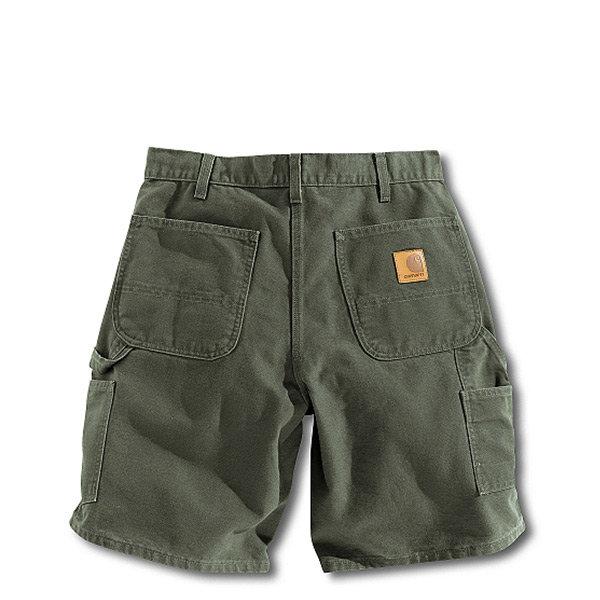 【EST】CarharttWashedDuckWorkShort美版口袋短褲綠[CA-0002-030]H0808