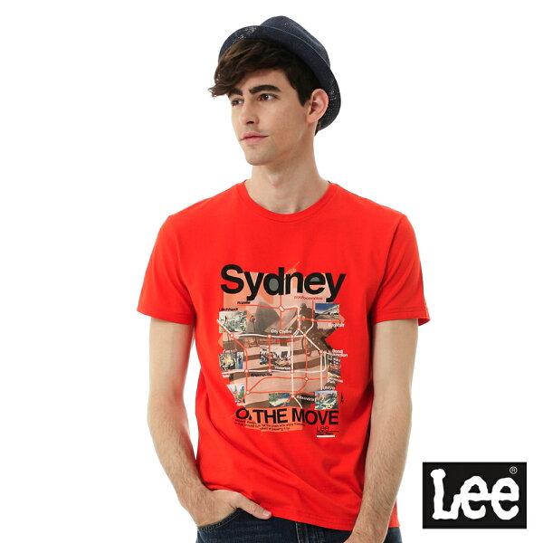 Lee Jeans tw:【精選上衣3.5折】Lee城市短袖T恤(Sydney)UR【單筆消費滿1000元全會員結帳輸入序號『CNY100』↘折100