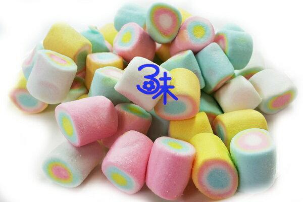 (菲律賓) 蜜意坊 造型棉花糖 (TO-02-彩粉筆棉花糖 2cm) 1包1公斤 特價168元 (雪Q餅、雪花餅原料)