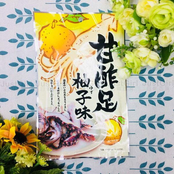 一榮食品魷魚乾柚子味魷魚下酒菜50g食品日本製造進口JustGirl