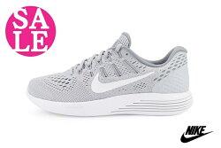 NIKE女慢跑鞋 大童鞋 LUNARGLIDE 8 透氣 運動鞋 零碼出清 N7132#灰色 OSOME奧森童鞋
