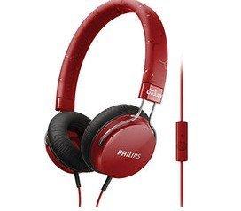 【迪特軍3C】PHILIPS 飛利浦 CitiScape SHL5305 RD 密閉式耳機 耳機麥克風 紅色