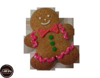 分享幸福的婚禮小物推薦喜糖_餅乾_伴手禮_糕點推薦【裸餅乾Naked Cookies】薑餅人(小丑)6入-創意手工糖霜餅乾,婚禮小物/生日/活動/收涎/彌月