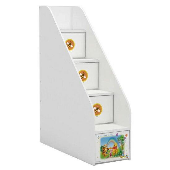 [首雅傢俬] 維尼 森林音樂會 梯櫃 樓梯櫃 置物櫃 上下舖 專用 收納櫃