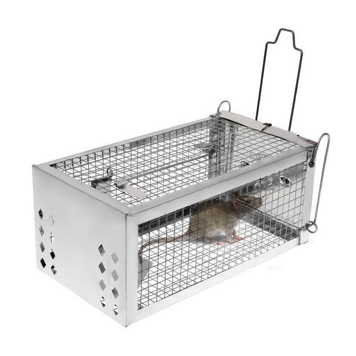 One Door Sensitive Pedal Mousetrap Cage 1