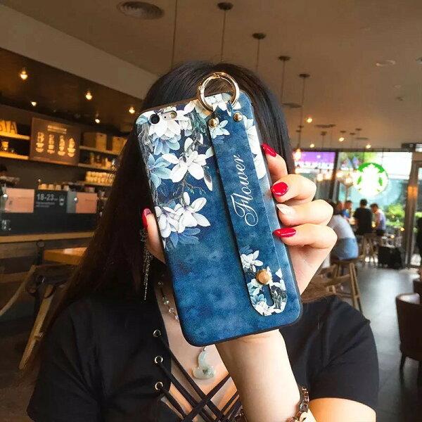 現貨i6i7i86p7p8plusiX中國風手機殼古典風文創手機套立體浮雕軟殼[GP美貼]