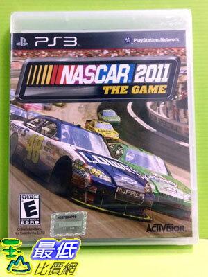[玉山最低比價網] 全新沒拆 PS3 雲斯頓賽車 2011 (英文版)