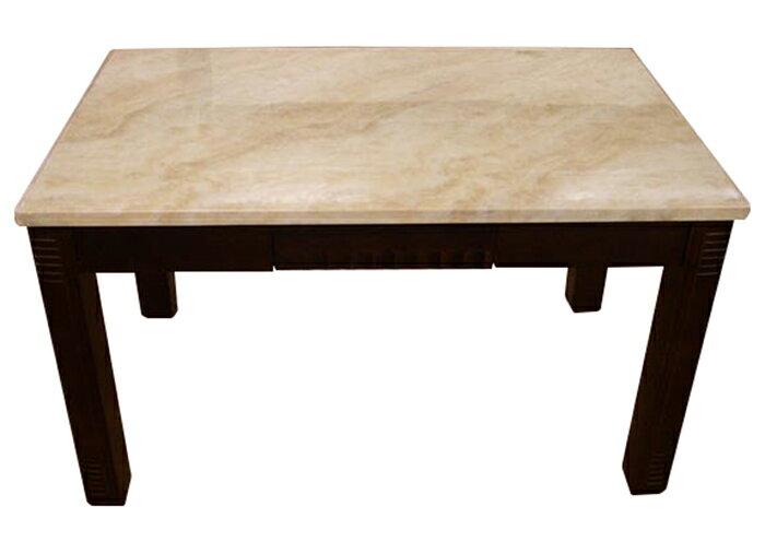 【尚品傢俱】K-226-01 胡桃大理石面餐桌《桌腳加粗,堅固耐用》