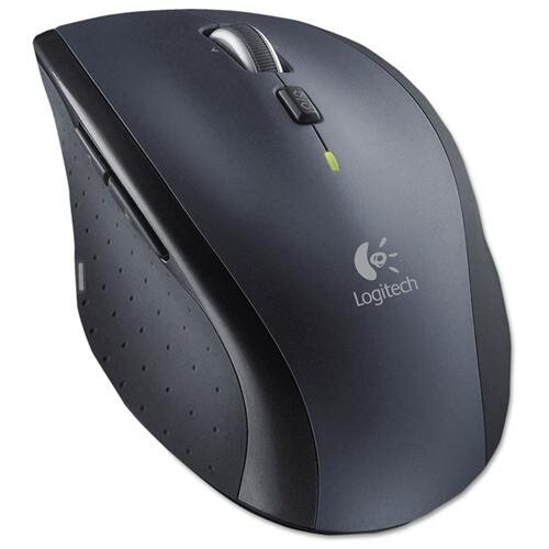 M705 Marathon Wireless Laser Mouse, Black 0
