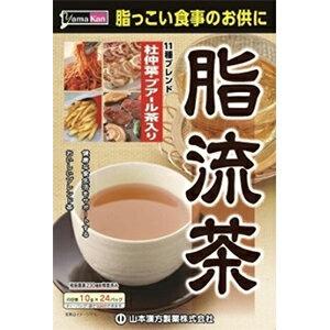 日本 山本漢方 脂流茶240g