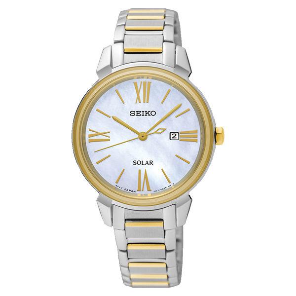 Seiko精工錶CSV137-0CV0K(SUT324P1)簡約大方腕錶黃32.1mm
