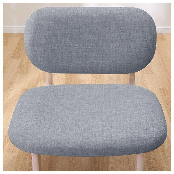 ◎(OUTLET)實木餐椅 RELAX WW / GY 橡膠木 福利品 NITORI宜得利家居 7