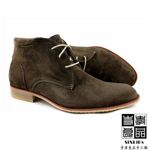 寺孝良品 英倫摩登牛巴戈沙漠短靴 咖啡 2