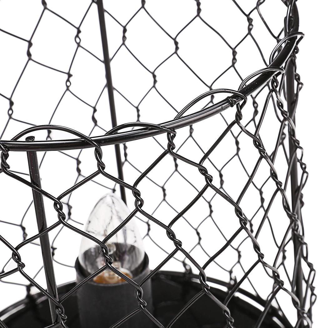 Salt Home Lamp Metal Basket US Plug 5